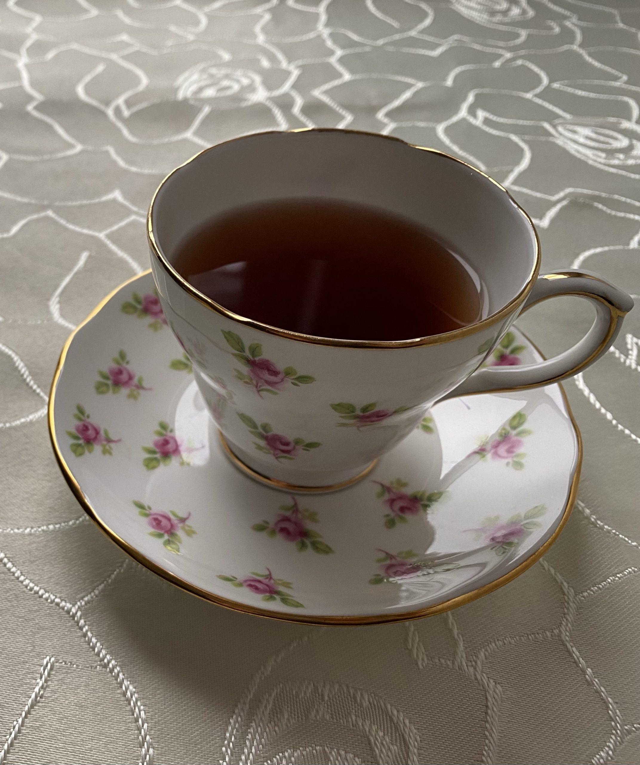 Teatime: Plum Deluxe Chocolate Hazelnut Dessert Tea